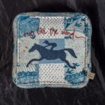 Jo-Colwill-Cowslip-Country-Quilts-Up up and away Horse cushions