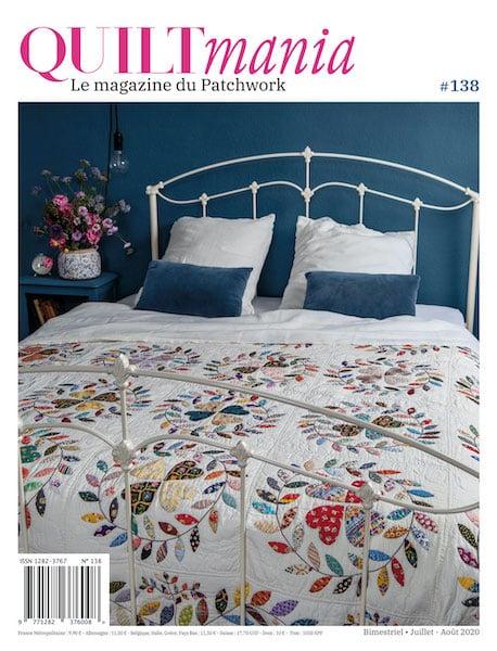 Quiltmania magazine n°138