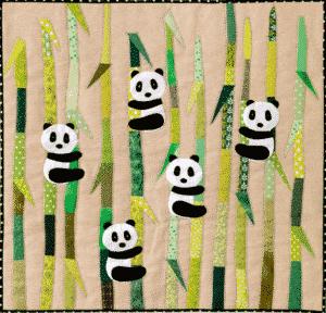 Little Pandas quilt