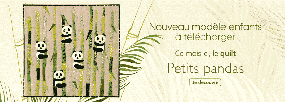 E-patron Petits Pandas Anne-Marie Saudo