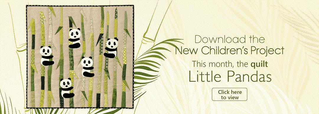 E-pattern Little Pandas Anne-Marie Saudo