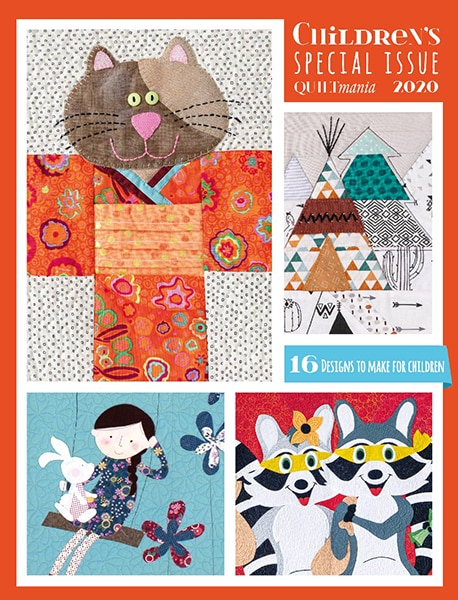 Children's special Issue 2020 cover patchwork