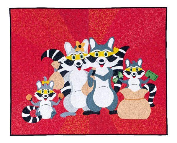 Quilt Meets The Bandits Swan Amity Sheridan - Enfants Children 2020