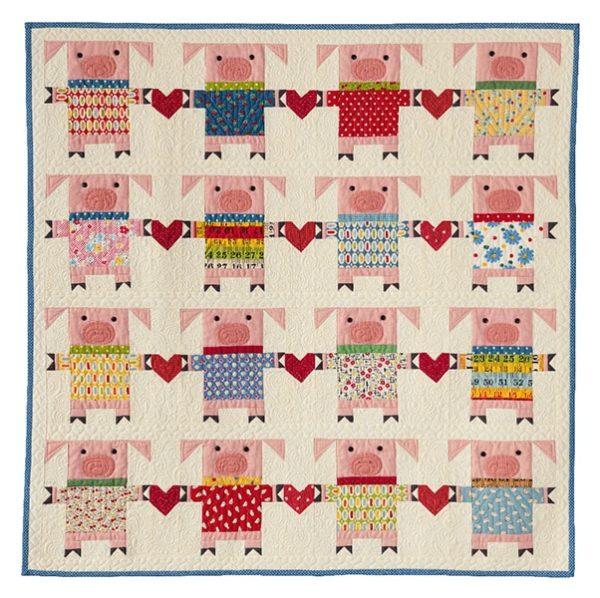 Quilt Pig Love_Kim Gaddy- Enfants Children 2020