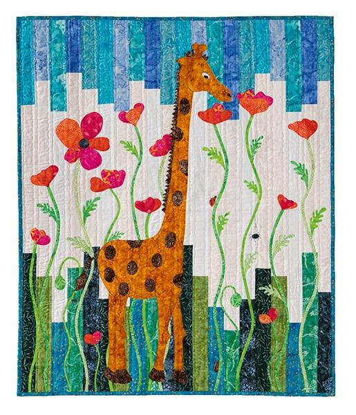 Quilt Poppy The Forest_Suzanne Claire- Enfants Children 2020