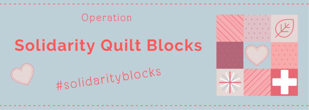 Banner Solidarity blocks