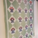 American quilts exhibition - picture of a Cactus Basket Quilt