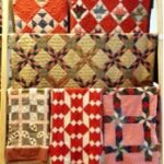 American quilts exhibition - picture of Diamonds and squares quilts sampler