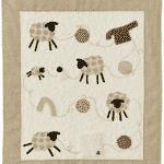 Quilt Tricote-moi un mouton – Anne-Marie Saudo