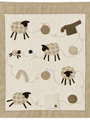patron quilt enfant Tricote-moi un mouton - Anne Marie Saudo