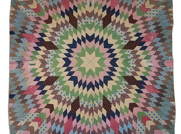Exposition quilts américains - photo du quilt starbust
