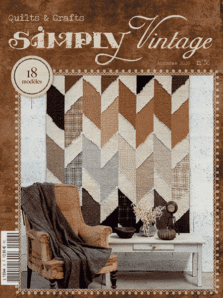 Simply Vintage 36 Couverture FRF