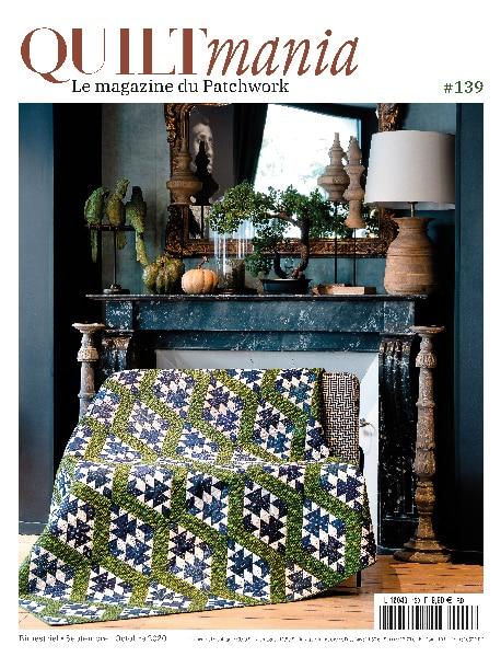 Quiltmania Magazine 139 - Couverture FR