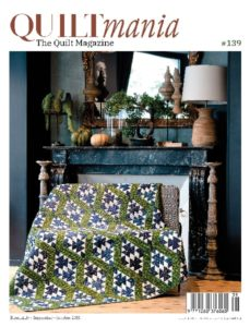 Quiltmania Magazine 139 - Cover GB