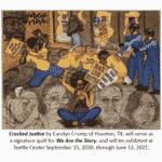 Quilt Cracked Justice, Carolyn Crump