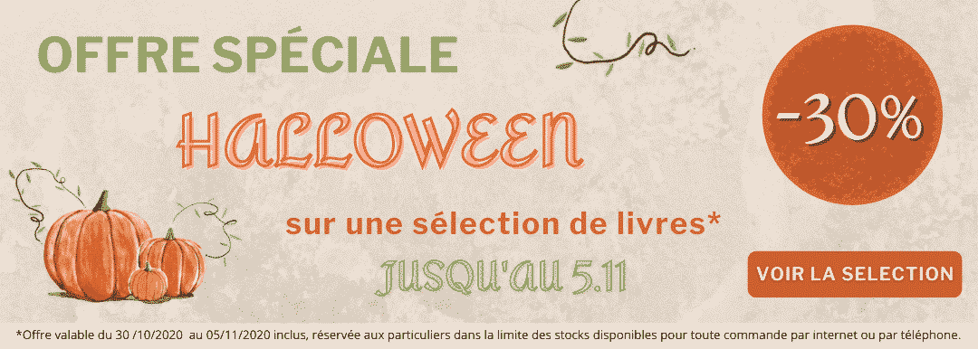 Banniere offre speciale Halloween 2020