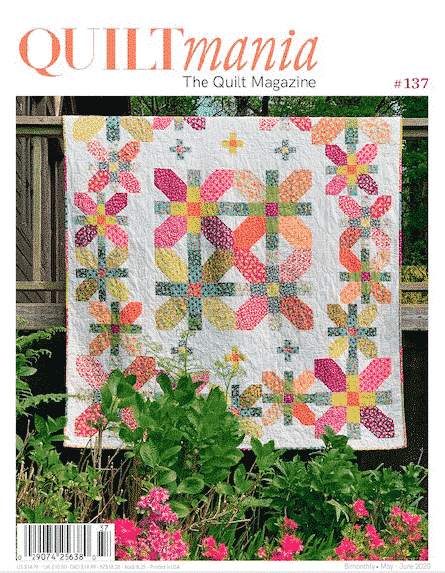 couverture magazine quiltmania 137