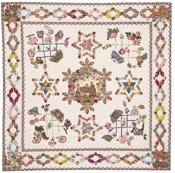 Quilt Dutch Baskets - Brigitte Giblin - Quiltmania box 2020