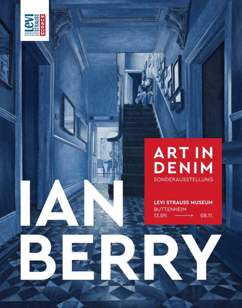 Affiche exposition Ian Berry au Levi Strauss Museum