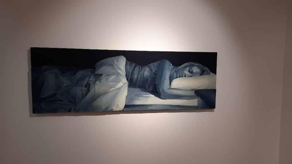 Ian Berry exposition au musée Levi Strauss, oeuvre femme