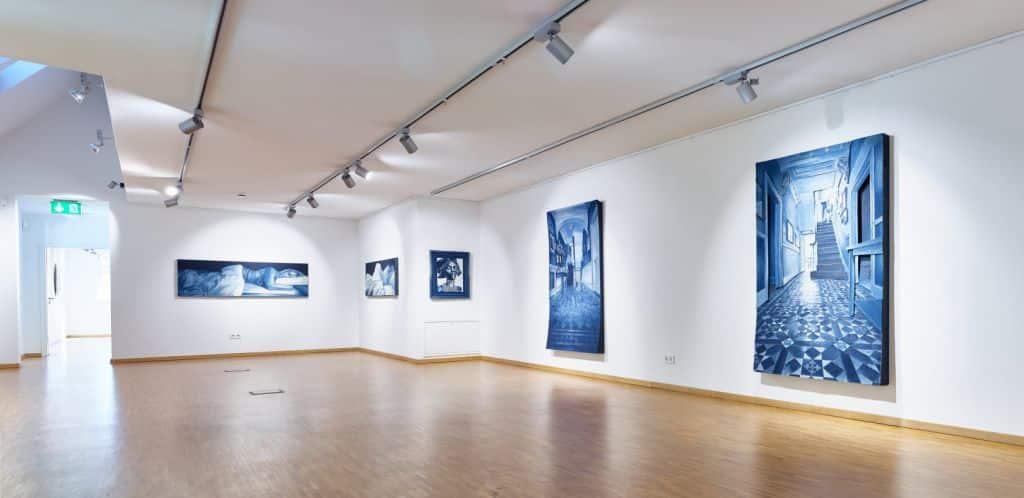 room 2 exhibition art Ian Berry au Levi Strauss Museum