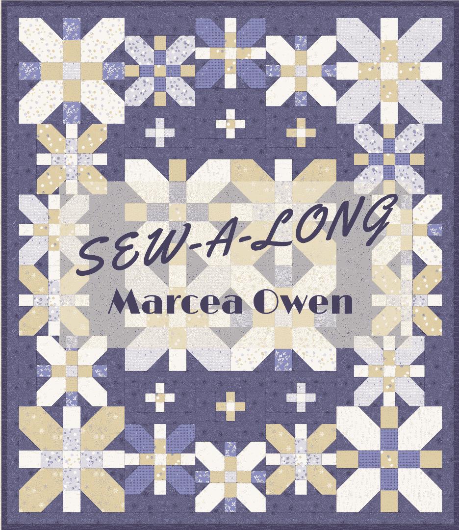 sewalong marcea owen coventry garden quilt