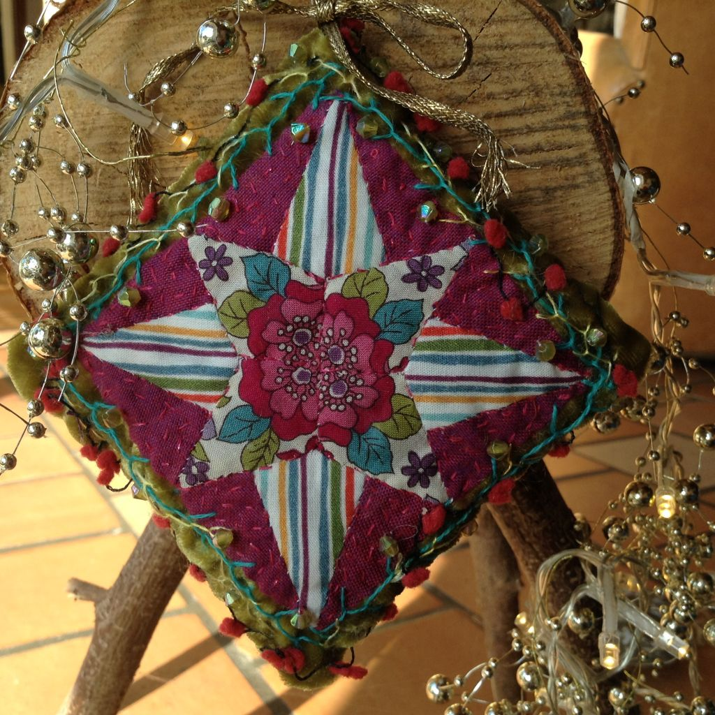 XMAS quiltmania 2020 my lucky star
