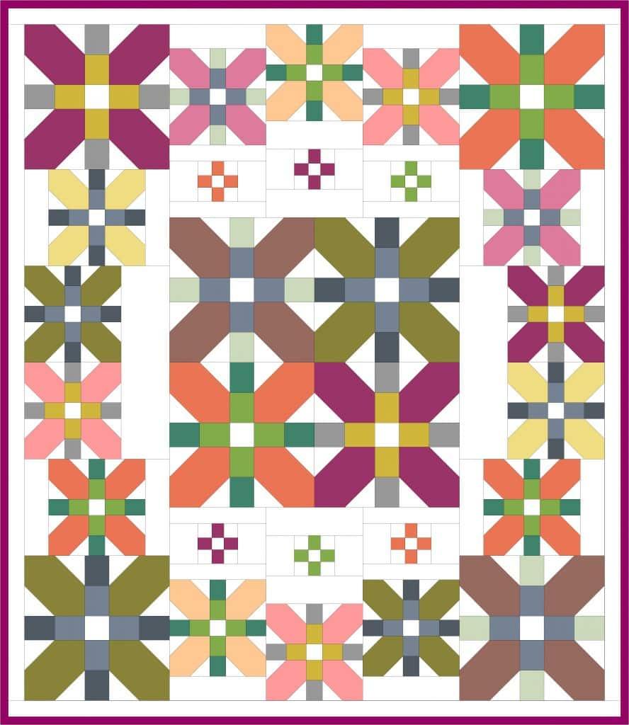 quilt coventry garden automne