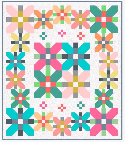 quilt coventry garden pastel