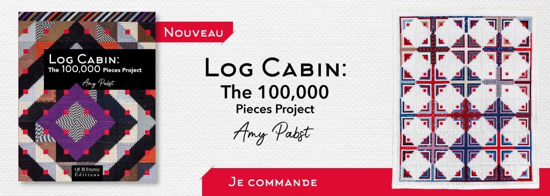 Log Cabin - Amy Pabst - banniere FR