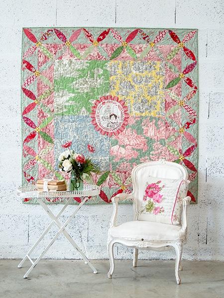 Cécile de Nantes - Quilts for Life 2 - Judy Newman