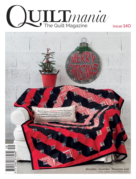 Cover Quiltmania 140 winter GB 2020