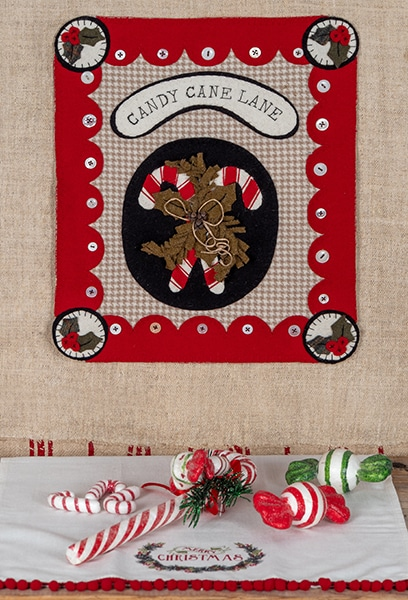 Simply Vintage 37 - Candy Cane Lane