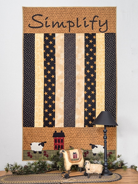 Simply Vintage 37 - Simplify Quilt