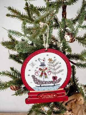 Simply Vintage 37 - Sleigh Ride Snow Globe