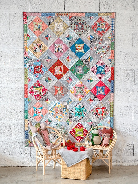 There is a Bear - Quilts for Life 2 - Judy Newman