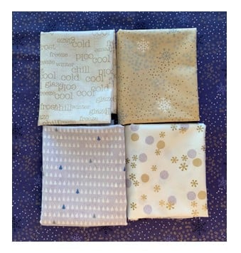 four winter fabrics