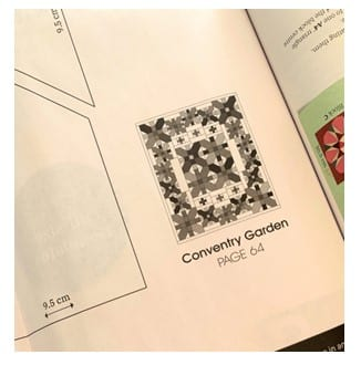 coventry garden quilt template