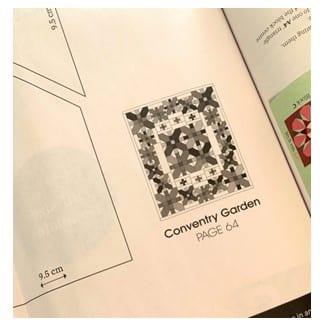 gabarit coventry garden quilt