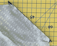 pointed triangles template