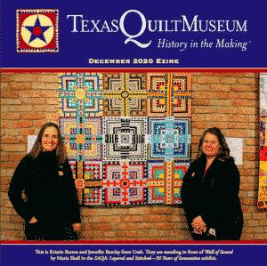 Texas Quilt Museum ezine cover