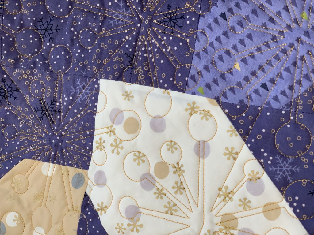 pantographe quilting - coventry garden