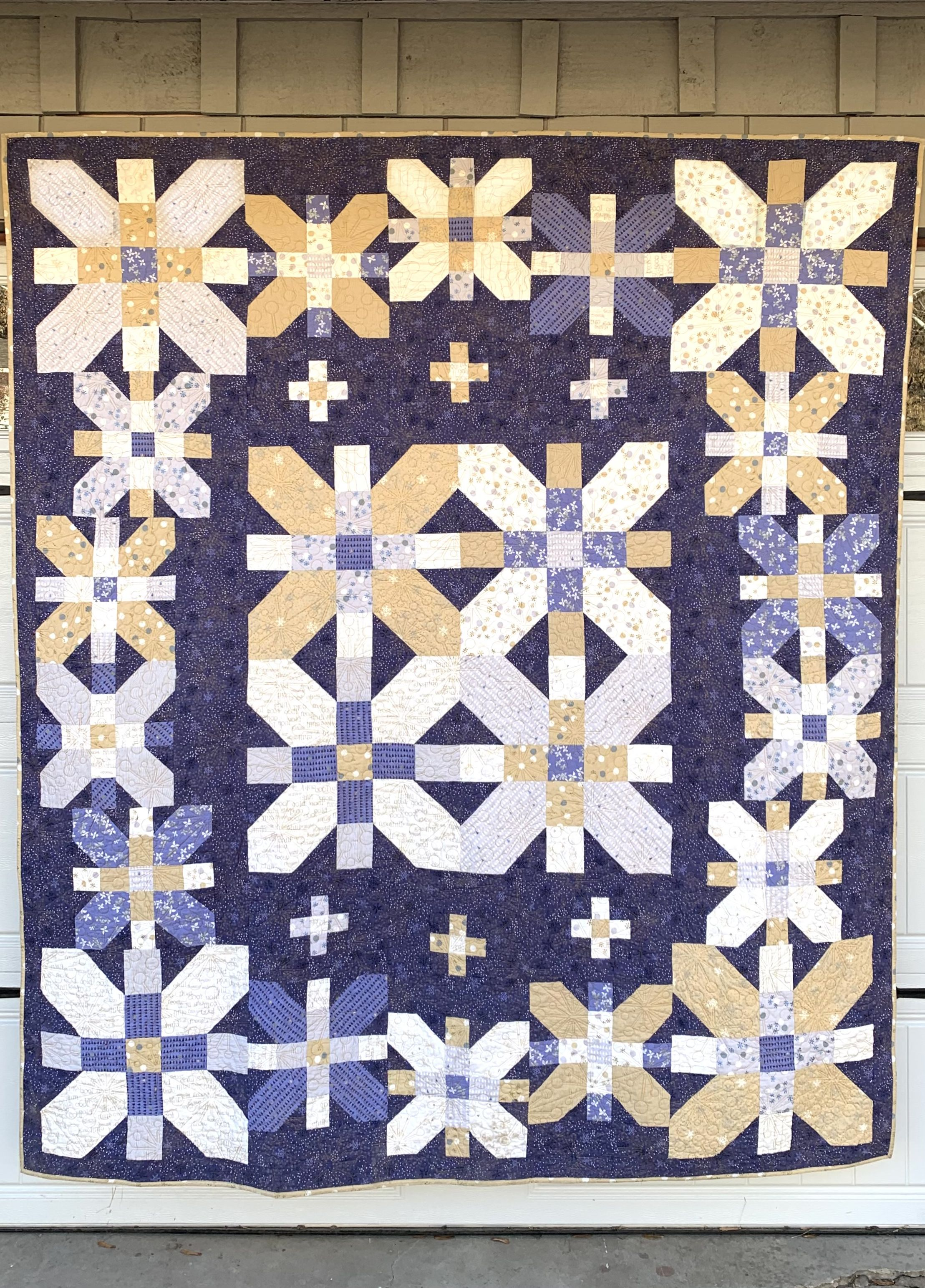 quilt hiver Coventry Garden