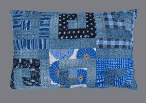 Blue Boro cushion - Pamela Dinndorf