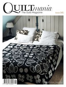 Quiltmania 141 Cover GB