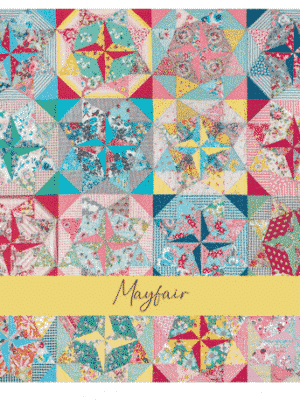 Mayfair quilt template set-Judy Newman