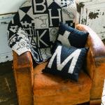 Mitsuyo Takasaki-Monochrome toolkit quilt and cushions-Urban Quilts-Suzuko Koseki