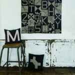 Mitsuyo Takasaki-Monochrome toolkit quilt-Urban Quilts-Suzuko Koseki