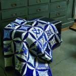Nobuko Akai-Informal blue and white quilt 2-Urban Quilts-Suzuko Koseki