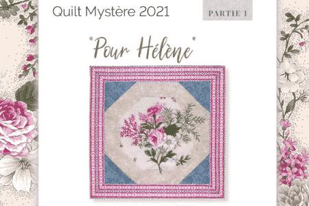 Quilt Mystere 2021-Nathalie-Meance-La-Fee-Pirouette-partie1-FR